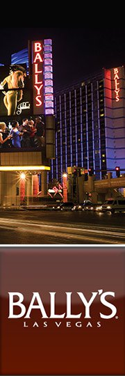 All Active Bally's Las Vegas Coupons & Promo Codes - December Bally's Las Vegas is one of the best hotels and casinos to stay at when visiting the city. Not only does the hotel offer quality rooms and suites with plenty of amenities and a lively casino, it's also in the center of the hottest action Las Vegas has to offer.