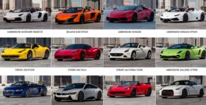 Las Vegas Exotic Car Rentals Las Vegas And Atlantic City Hotel Deals